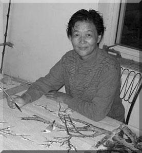 Künstlerin für Gongbi-Malerei