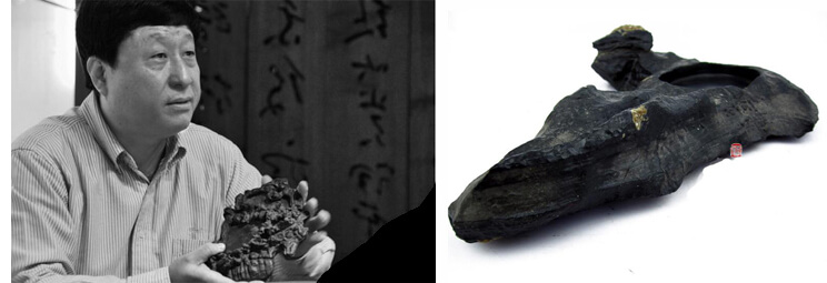 Tuschestein Lingbi aus China