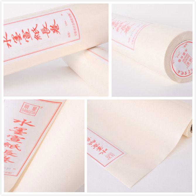 Kalligraphiepapier als Rolle